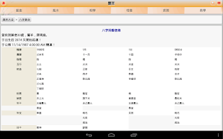 Screenshot of 算命大全