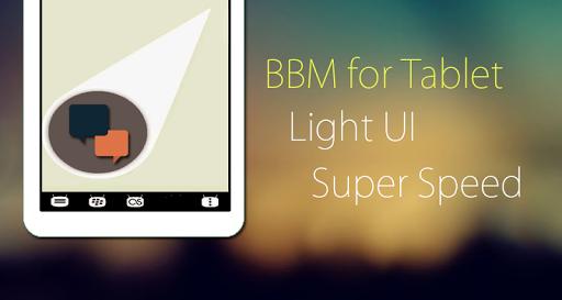 BBM for Tablet
