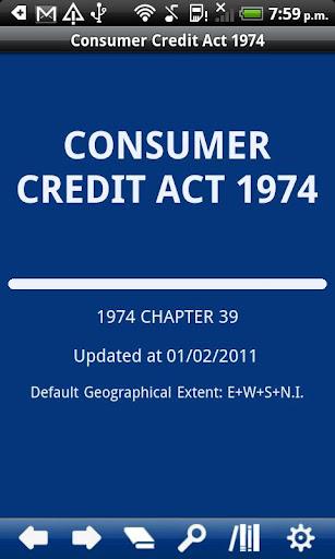 Consumer Credit Act 1974