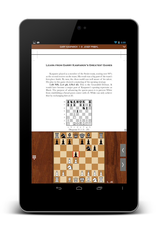 Chess Book Study ♟ Pro - screenshot