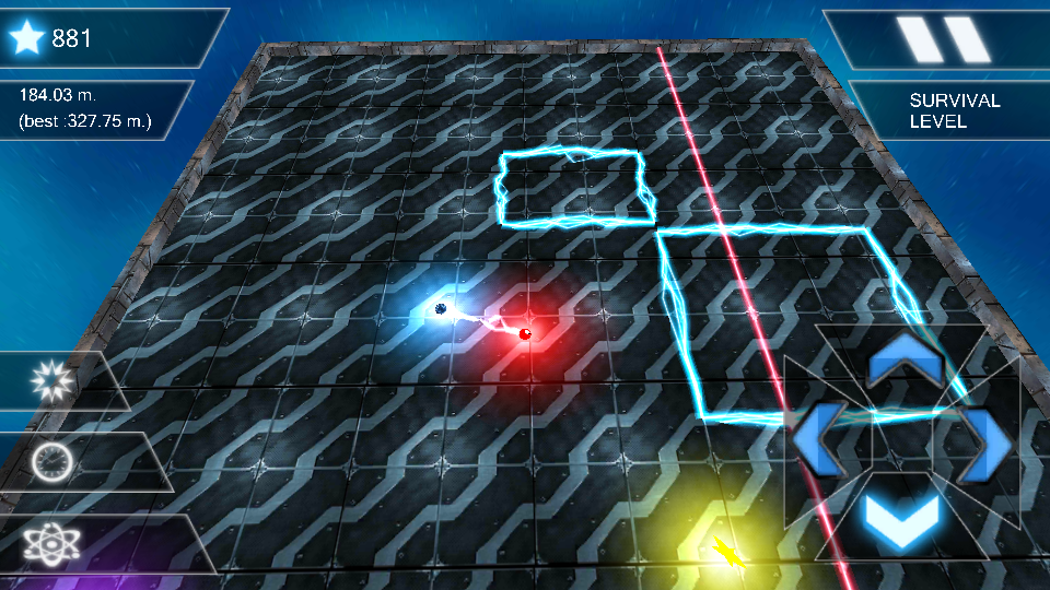 Drag The Ball 3D- screenshot