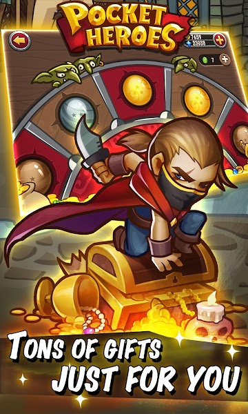 Pocket Heroes Mod Apk - Screenshot