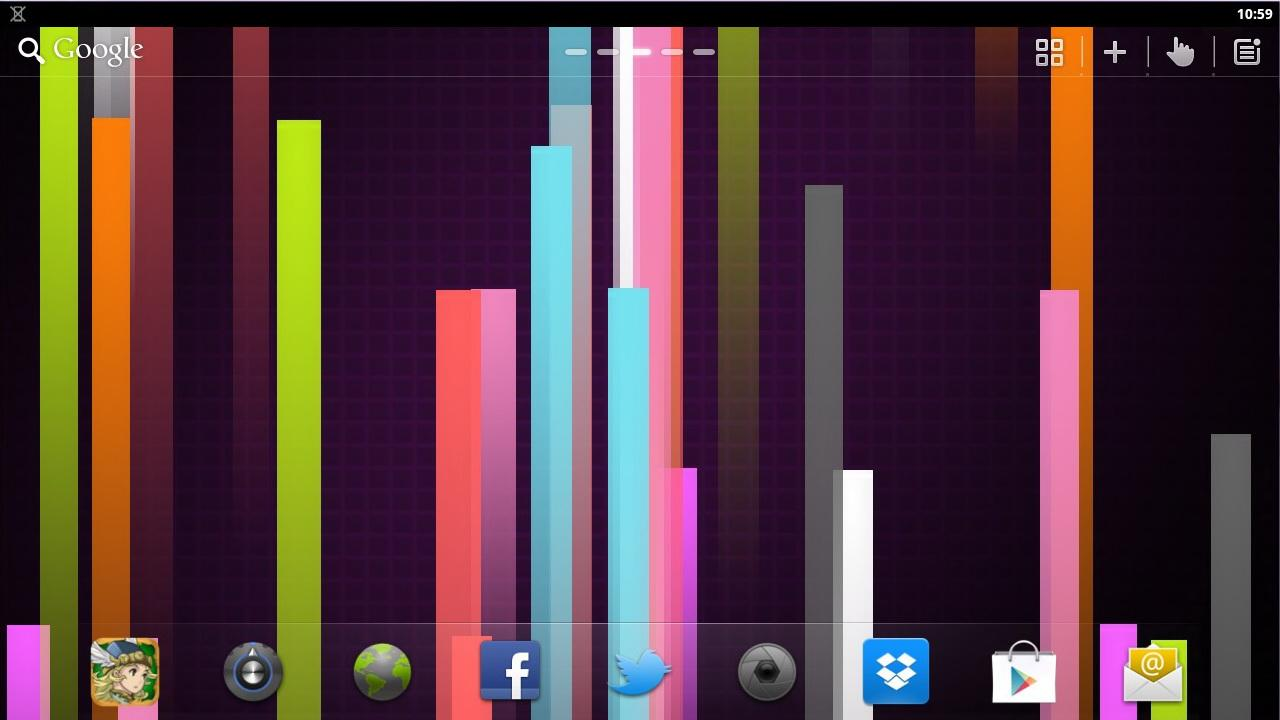 Next Nexus Live Wallpaper- screenshot