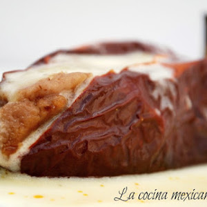 Chili Ancho Stuffed with Beans