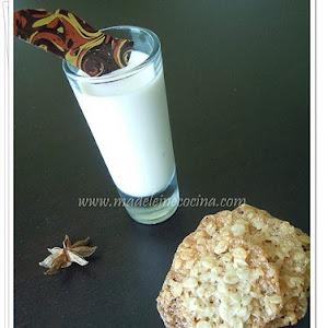 Chai Panna Cotta and Florentine Cookies