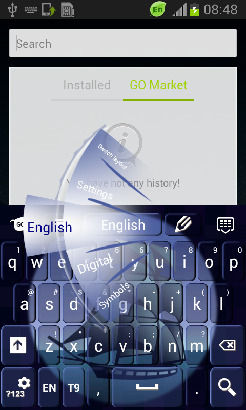 Spyglass Keys Theme - screenshot