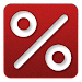 Percentage Calculator v1 Icon