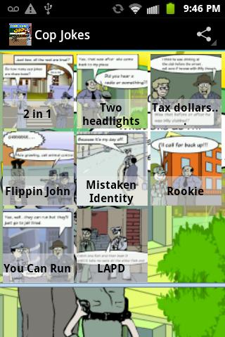 Comic Toons: Cop Jokes
