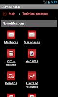 Screenshot of NeuPrime Mobile