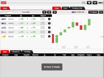 IronFX Social Trader - screenshot thumbnail