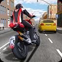 Race the Traffic Moto mobile app icon