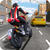 Free Download Race the Traffic Moto APK for Samsung