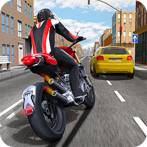 Race the Traffic Moto for PC and MAC