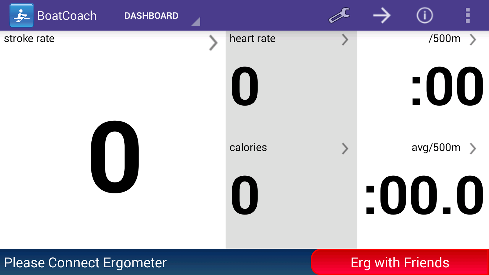 BoatCoach for rowing & erging - screenshot