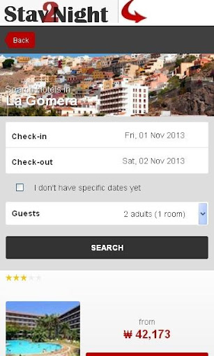 La Gomera Hotel booking