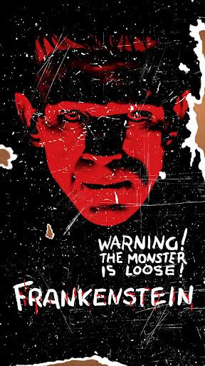 Frankenstein Halloween LWP QHD