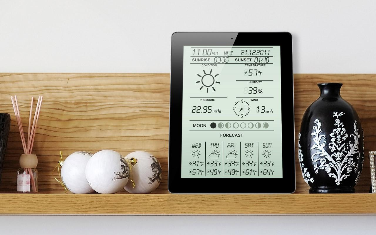 Weather Station Classic- screenshot