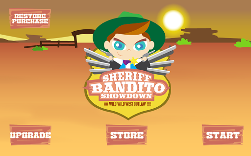 Sheriff Bandito Kids Showdown
