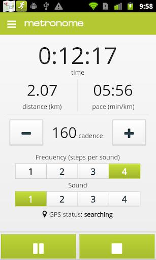 runnahoo - Running metronome