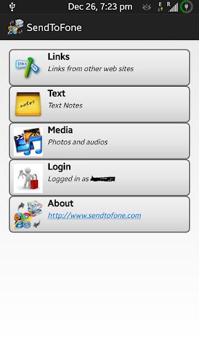 SendToFone