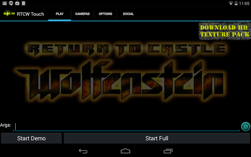 RTCW Touch for Android - Version 2 1 | Free Download Apps
