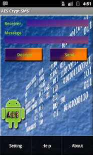Free AES Crypt SMS APK for Android