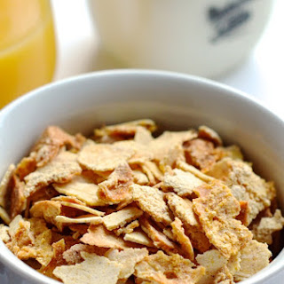 Homemade Cornflakes Cereal.