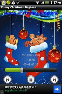 Funny Christmas Ringtone - screenshot thumbnail