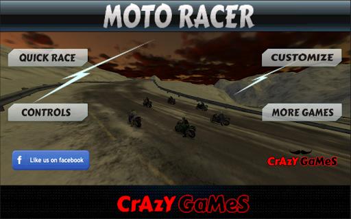 Moto Racer Mega Speedway