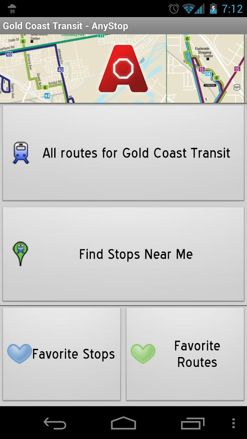 Gold Coast Transit: AnyStop - screenshot