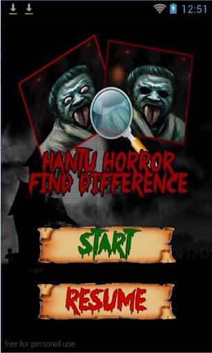 Hantu Horror Find Difference 1