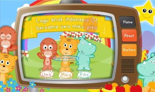 Lagu Anak Indonesia 01