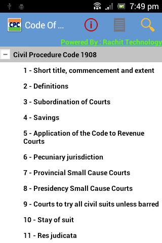 Code of Civil Procedure India