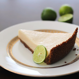 Healthy Key Lime Pie (low fat, low sugar, high protein).