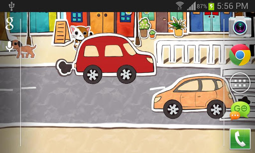 Paperland Live Wallpaper 1.3.4 screenshots 6