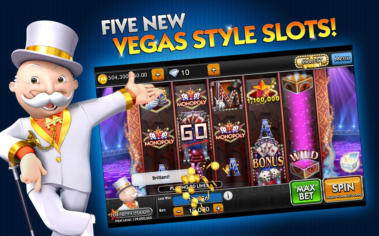 MONOPOLY Slots - screenshot