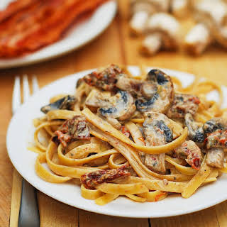 Sun Dried Tomato Mushroom Pasta Recipes.