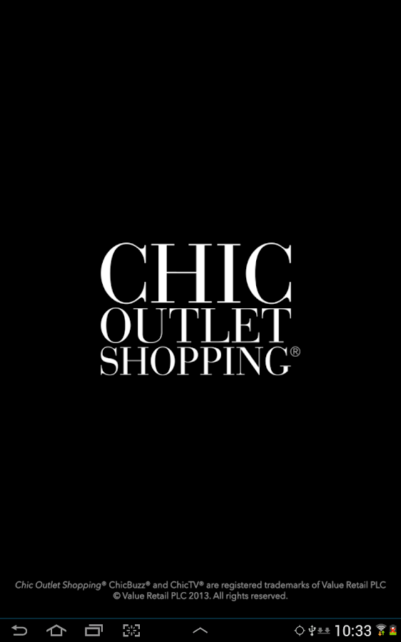 Chic Outlet Shopping: captura de pantalla