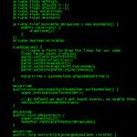 Scrolling Code Live Wallpaper logo