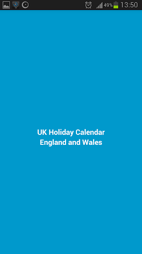 England and Wales Holidays