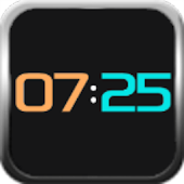 Neon clock for SmartWatch 2