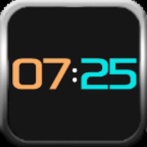 Neon clock for SmartWatch 2 APK