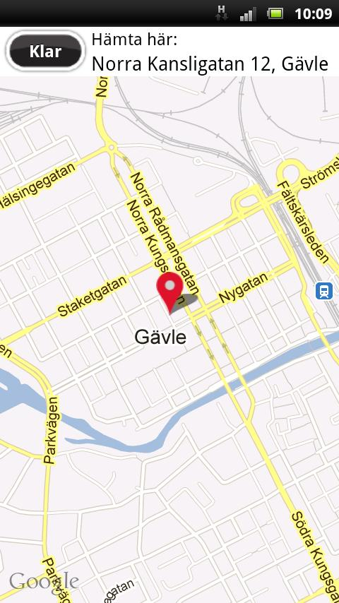 Gävle Taxi- screenshot