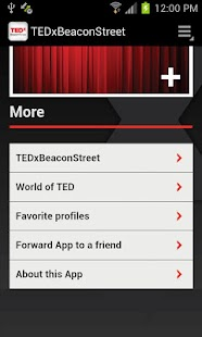 TEDxBeaconStreet - screenshot thumbnail