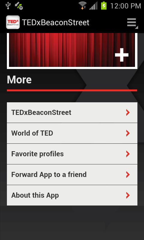 TEDxBeaconStreet - screenshot