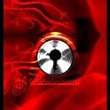 GO Locker Theme Red Fire icon
