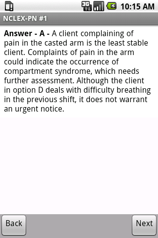 NCLEX-PN Exam Prep by UM - screenshot