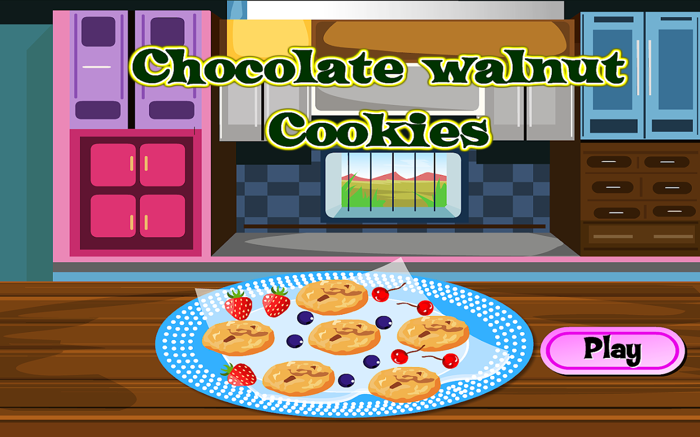 Make Chocolate Walnut Cookies- screenshot