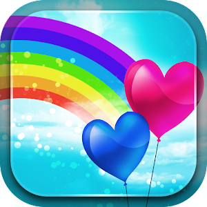 cute Love Wallpaper Apk : Download cute Rainbow Live Wallpaper for Pc