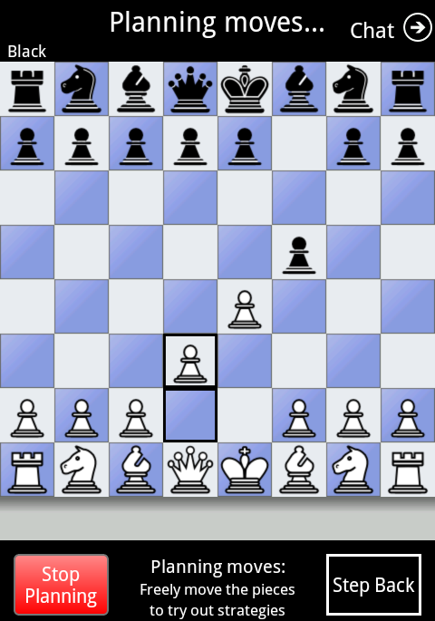 Chess By Post - screenshot